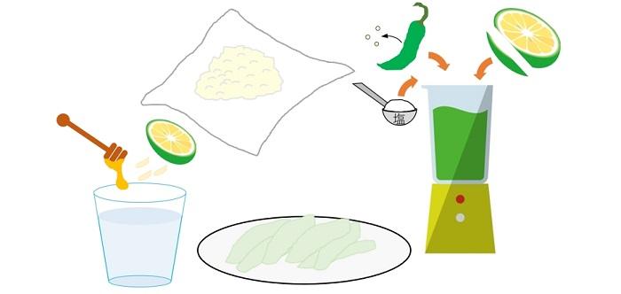 カボスレシピ4つ