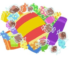 お菓子の画像