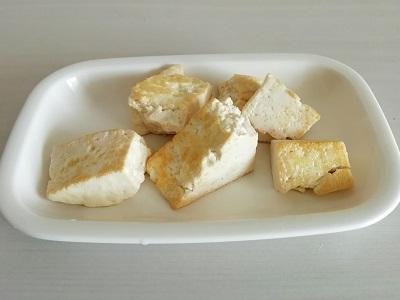 カボスチャンプルー豆腐工程6