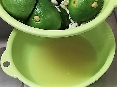 カボスポン酢工程5