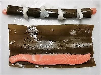 昆布巻き鮭巻き