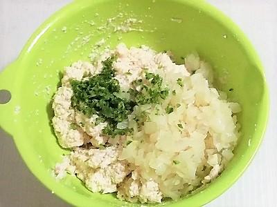 豆腐ハンバーグこね2