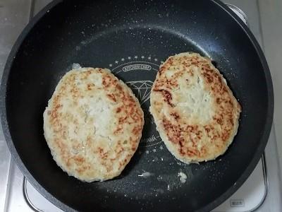豆腐ハンバーグ焼き2