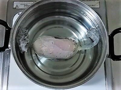 鶏ハムゆで