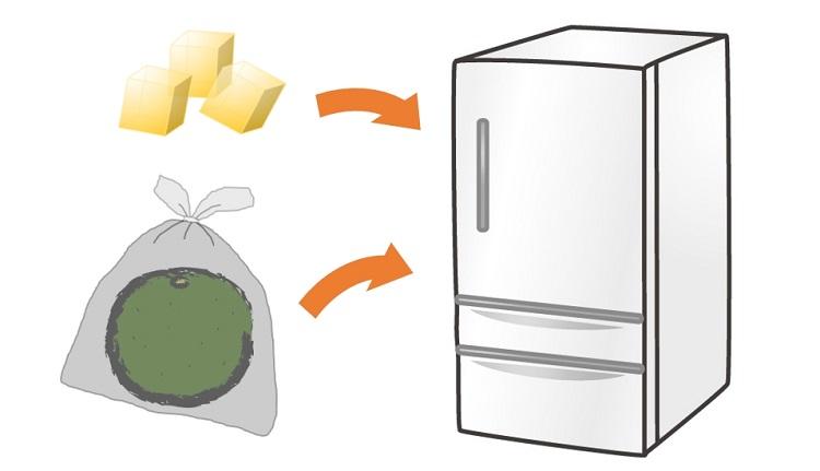 カボスの保存方法