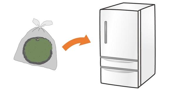 カボス果実の保存方法